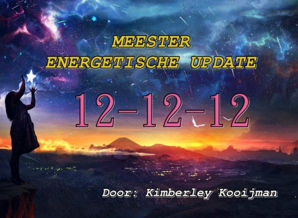 ENERGETISCHE ONDERSTEUNEND / KOSMISCH JOURNAAL VOLLE MAAN IN TWEELINGEN 12-12-12 – 18-12-2019 MEESTERUPDATE