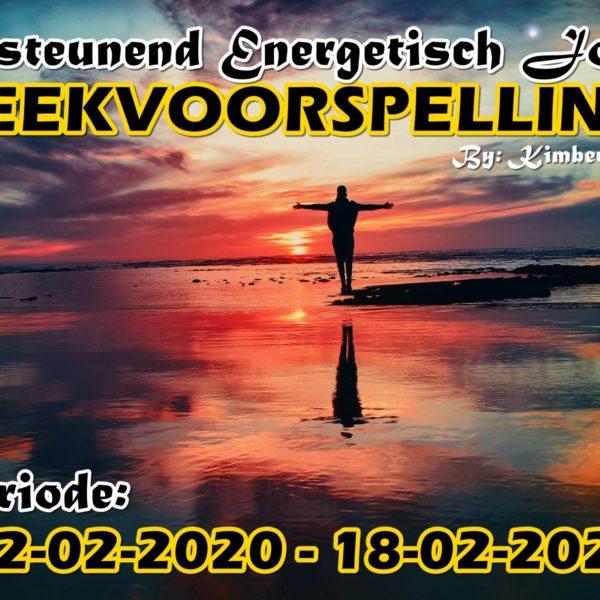 ONDERSTEUNEND ENERGETISCH / KOSMISCH JOURNAAL + TWEELINGZIELEN UPDATE WEEKVOORSPELLING 12-02-2020 – 18-02-2020
