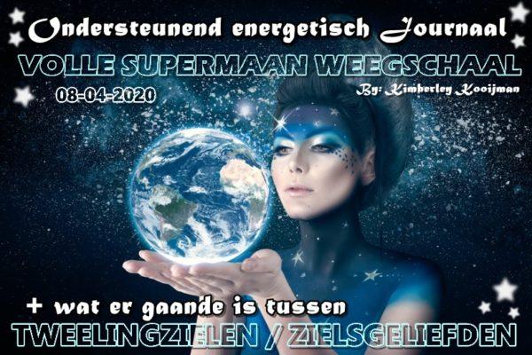 COLLECTIEF ONDERSTEUNEND ENERGETISCH JOURNAAL VOLLE SUPERMAAN IN WEEGSCHAAL 08-04-2020