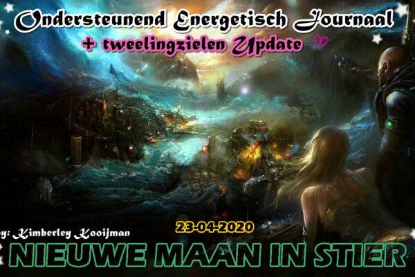 COLLECTIEF ENERGETISCH / KOSMISCH JOURNAAL + TWEELINGZIELEN UPDATE NIEUWE MAAN IN STIER 23-04-2020