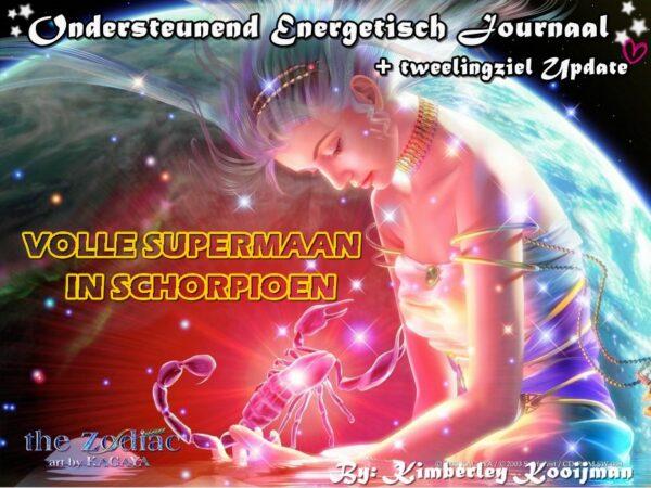 ONDERSTEUNEND ENERGETISCH JOURNAAL VOLLE SUPERMAAN IN SCHORPIOEN 27-04-2021